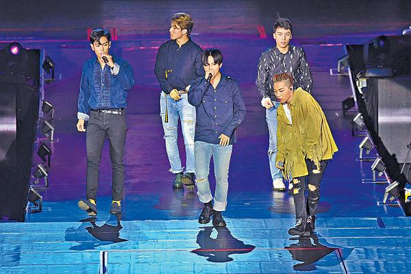T.O.P驚喜現身BigBang澳門騷