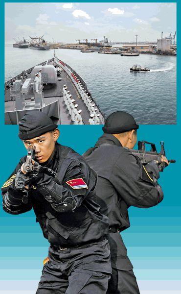 陸戰隊首駐東非 解放軍立足印度洋