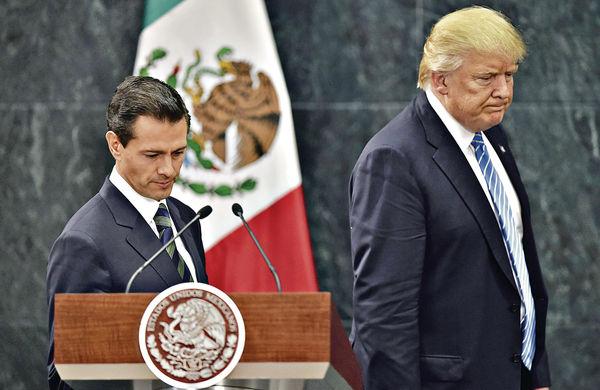 特朗普築牆 逼墨西哥找數