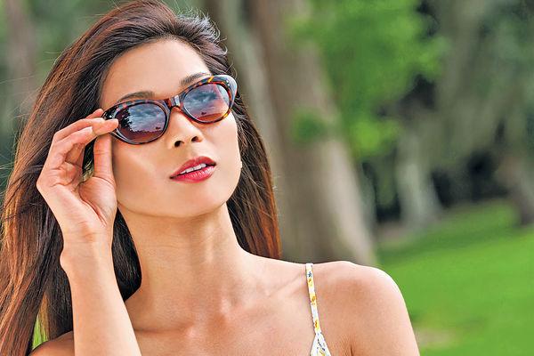 無防UV功能 深色太陽鏡反傷眼