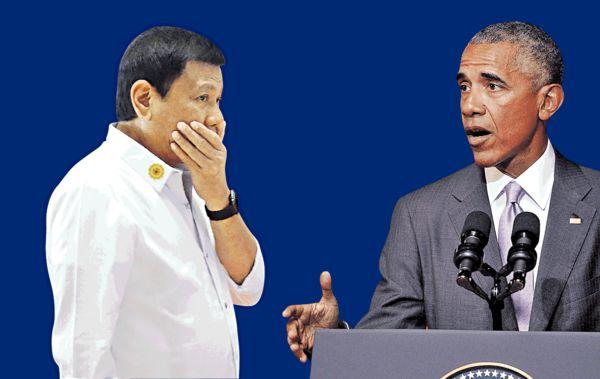 菲總統爆粗辱奧巴馬 白宮取消首腦會