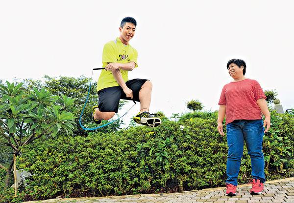花式跳繩冠軍何柱霆 逐夢全靠母支持