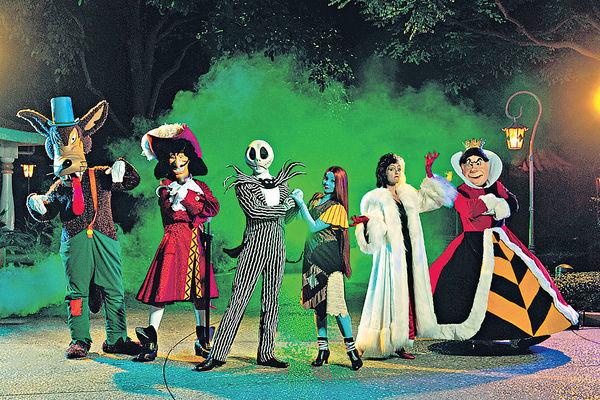 Halloween惡人出巡 夜襲迪士尼