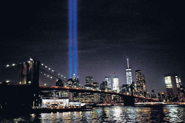 911恐襲15周年 世人未敢忘記