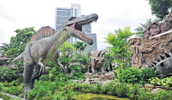 億元打造 150恐龍襲曼谷