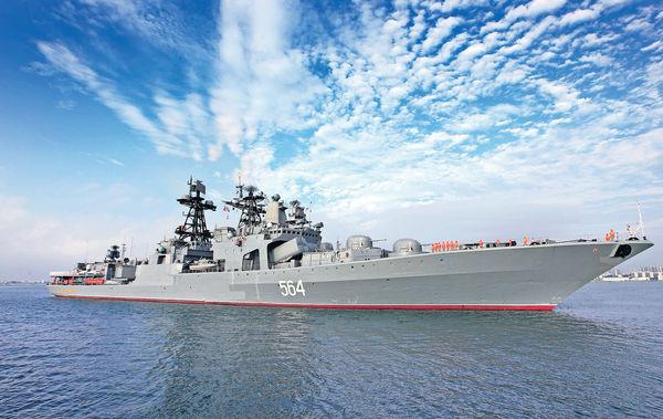 中俄南海軍演 主戰裝備亮相