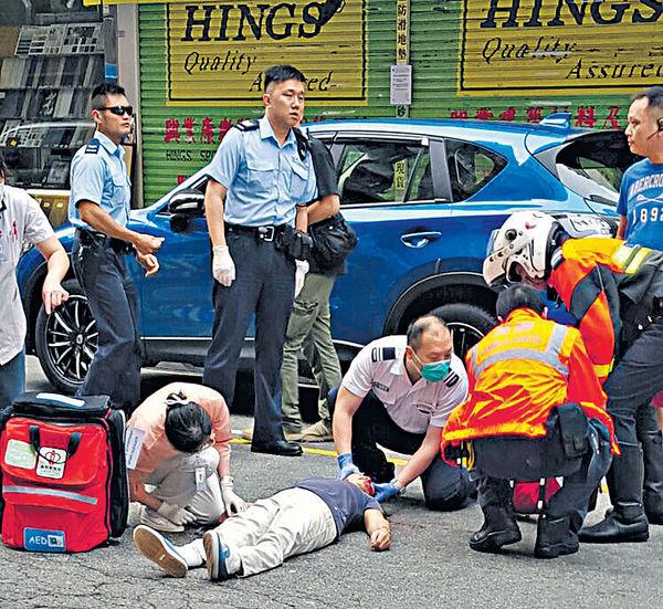過路婦捱車撞昏迷 護士跑百米救人