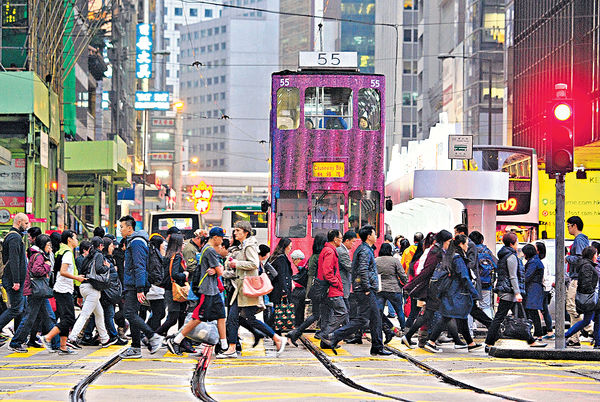 全球金融中心排名 香港跌出三甲