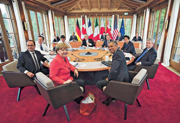日G7峰會擬發文 反對南海軍事化