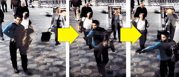 美機場槍擊案片段曝光
