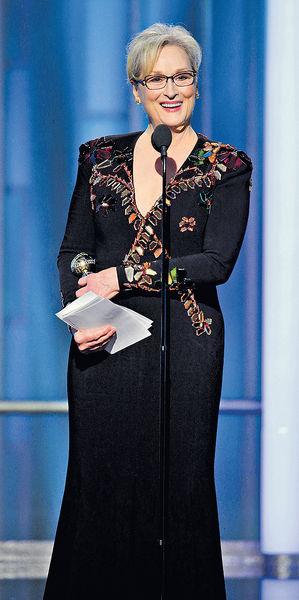 梅麗史翠普獲終身成就獎