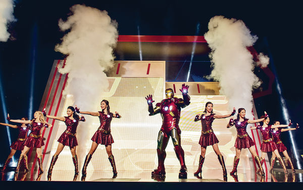 Iron Man今飛到迪士尼