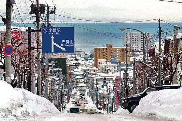 寒流襲日本 北海道等地下雪