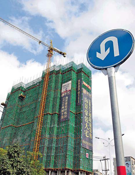 中國建築定單穩增