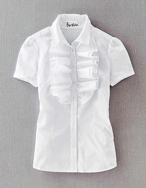 最愛白恤衫