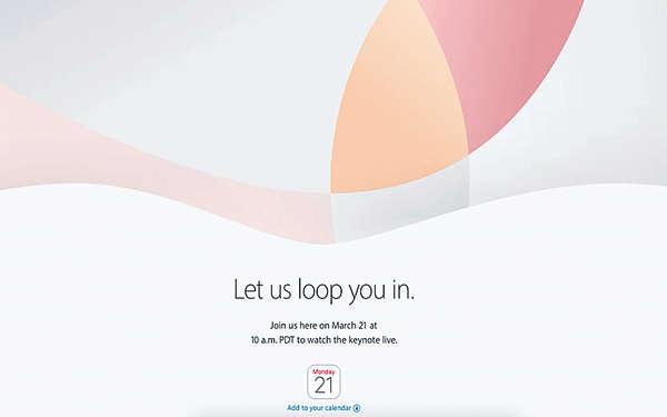 Apple發布會 邀請函「loop」字露玄機