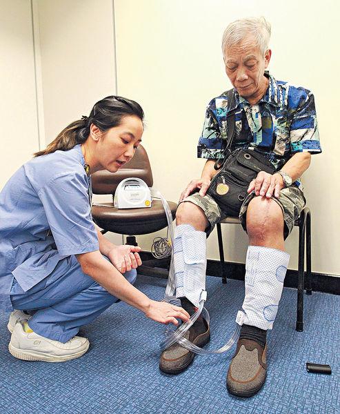 換膝關節多飲水減靜脈栓塞
