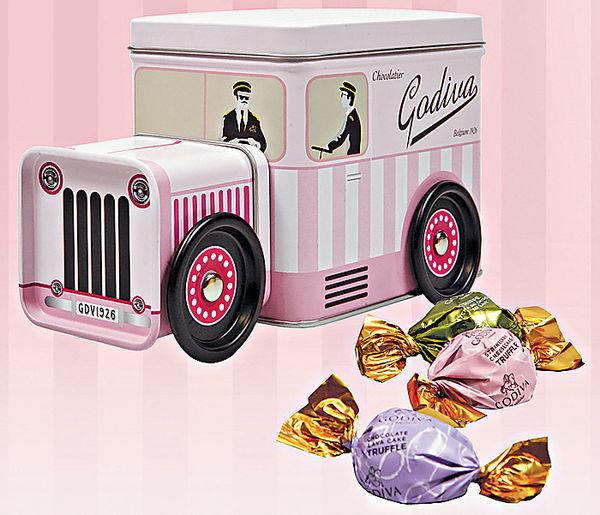 有故事的粉紅貨車朱古力