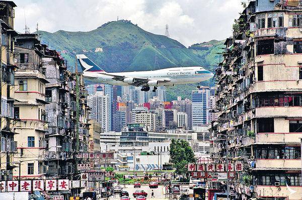 國泰747 周六維港最後飛行
