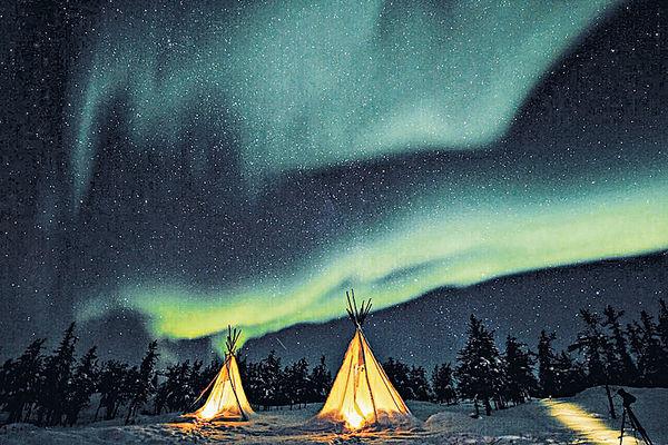 北極之光‧芬蘭