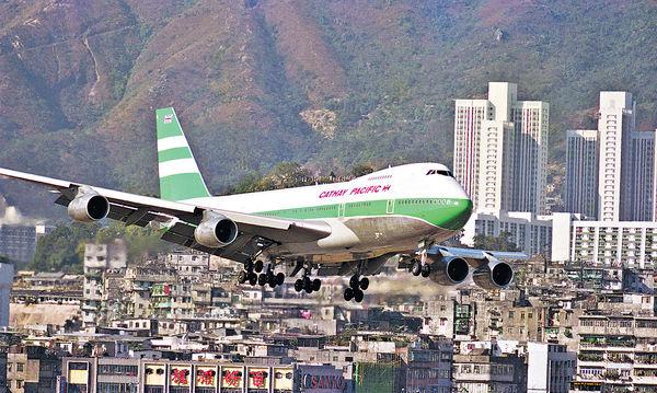 直擊國泰波音747退役航程 明飛越香港最後告別