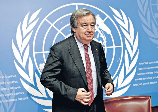 處理難民危機獲讚賞 葡前總理勢掌聯合國