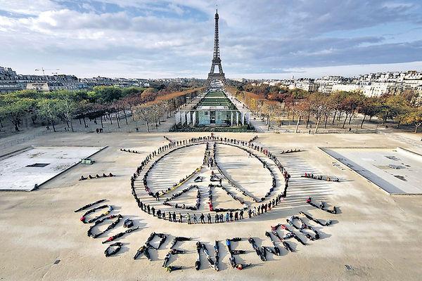 抗暖化《巴黎協議》 下月4日生效