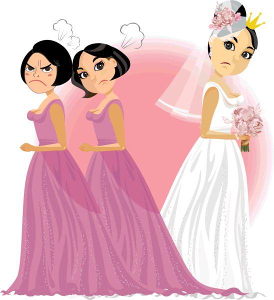 新娘使到盡 姐妹團開席前拉隊離場