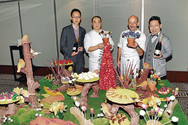 文華打造「甜品花園」 $688食蛋糕飲香檳