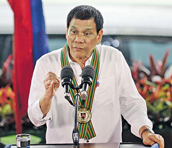菲總統下周訪華 料談南海