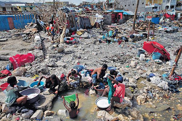 海地風災逾千死 聯合國籲伸援手