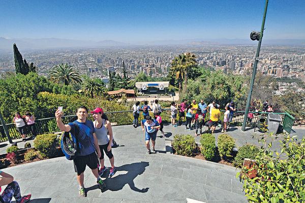 纜車導航 游走智利雙城