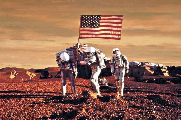 華府與私企合作 2030年送人上火星