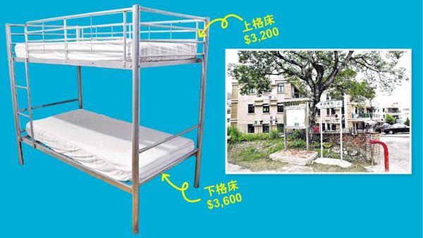 樓市異象 一個碌架床位月租$3200
