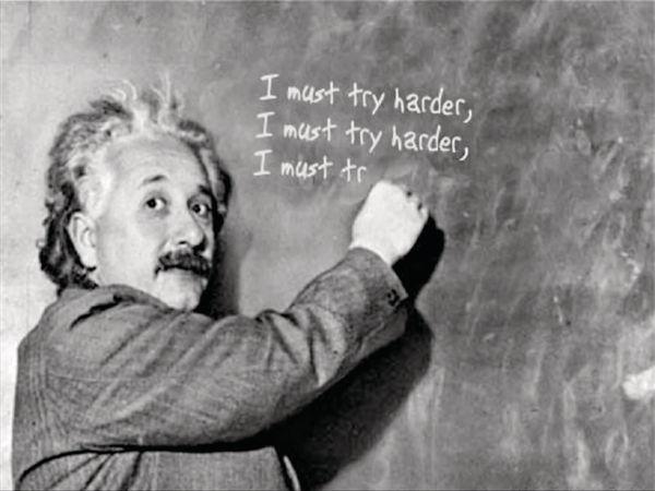 只求英語叻 愛因斯坦都變蠢