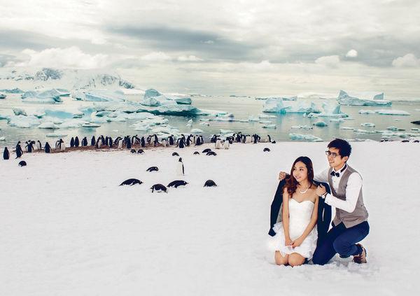 80後闖22國 環遊世界代婚宴自拍婚照