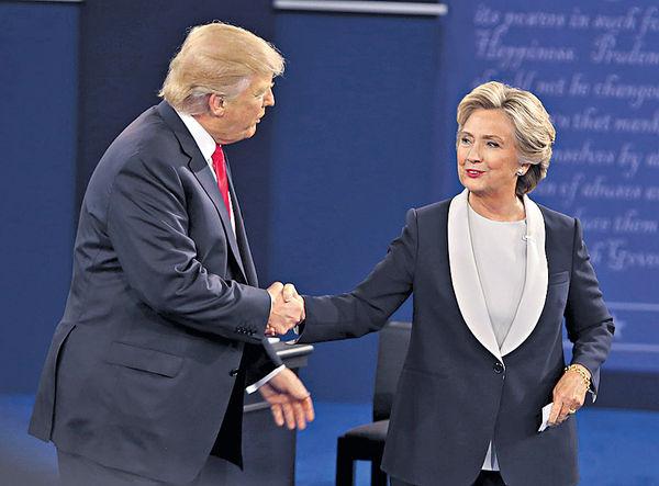 辯論將至 特朗普邀希拉里藥檢