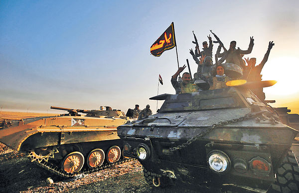 伊拉克清剿IS決戰 3萬大軍攻摩蘇爾