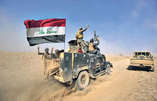 IS恐用化武 摩蘇爾平民淪肉盾