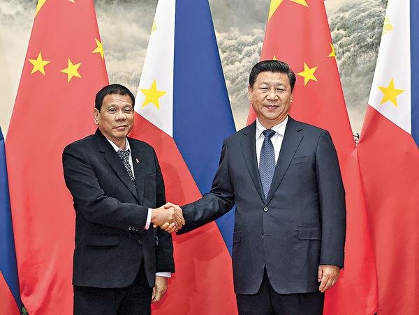 習近平晤菲總統 促友好對話 管控南海分歧