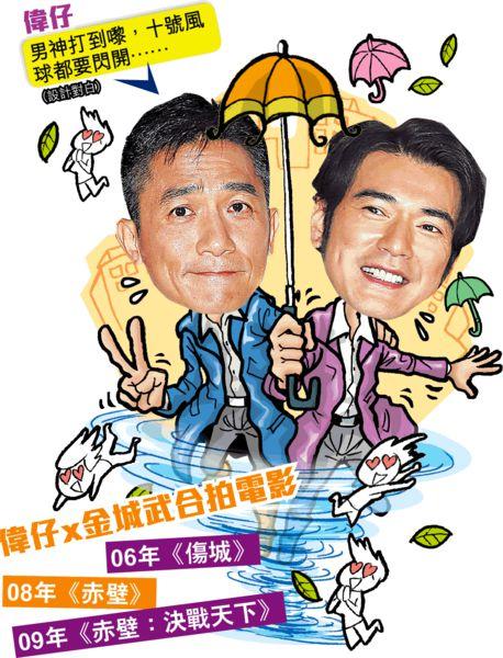 梁朝偉金城武演喜劇《擺渡人》鬥賣萌 影迷:不管好壞都要看