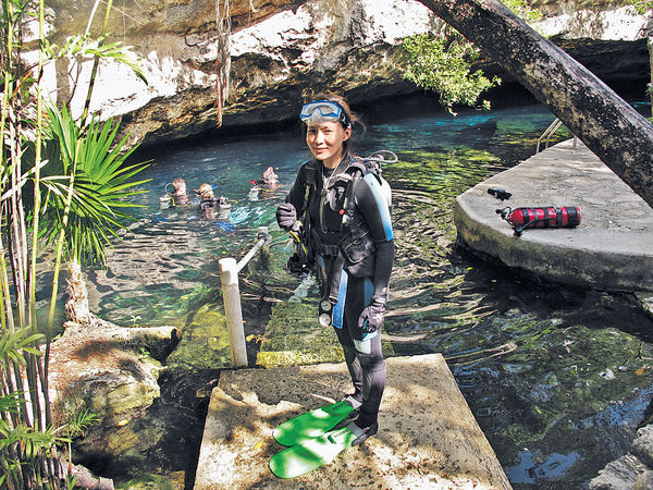 墨西哥深潛天然井獨特體驗