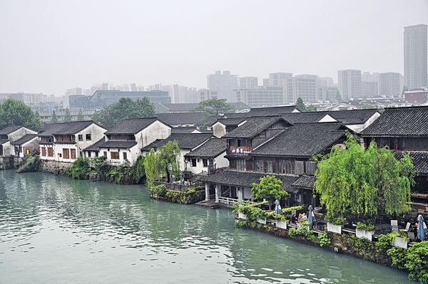 杭州河畔 穿越時空賞古風