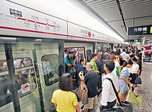 延綫迎首個上班日 油麻地乘客要等多班車