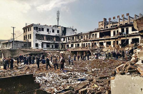 民眾浴血逃生 陝西大爆炸過百死傷