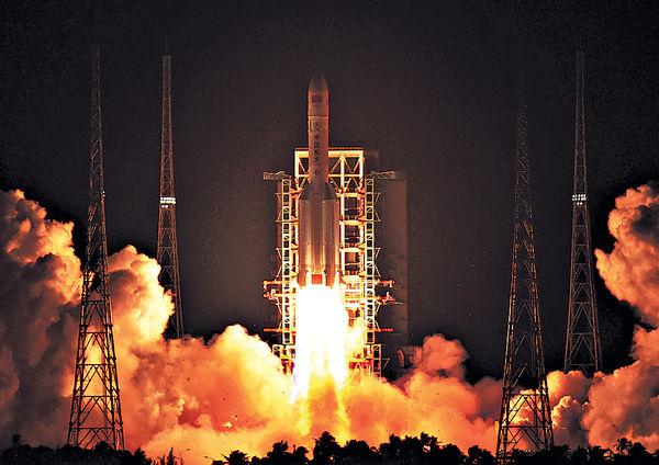 中國今年擬飛天30次 料帶返月球土