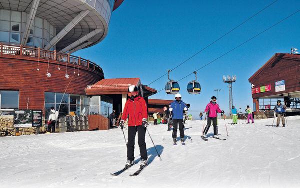 韓國江原道 400元冬奧雪場玩4小時