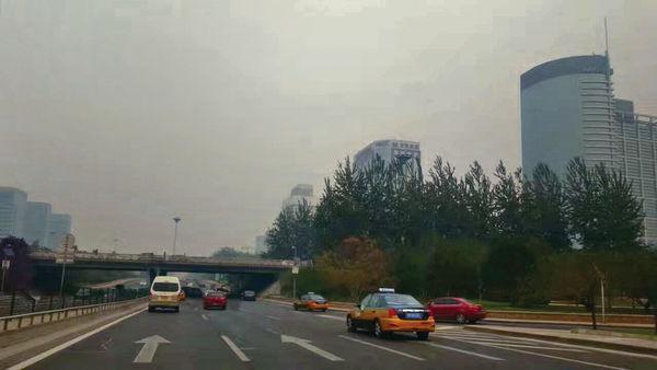 霧霾令旅客卻步