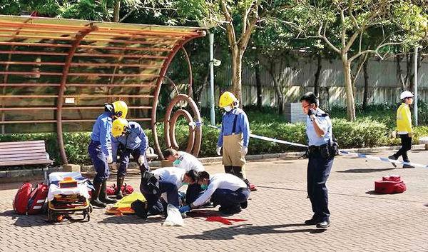 荃灣西站上蓋地盤飛竹 擊殺男途人