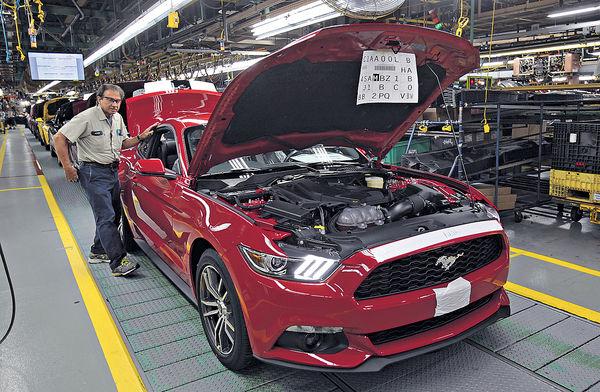 福特回流撑特朗普 擱置墨國建車廠
